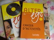 Продам новый учебник по французскому Alter Ego А1