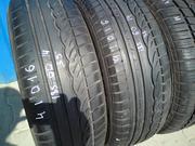 Продам R14 185/60 пара шин б/у лето  Dunlop