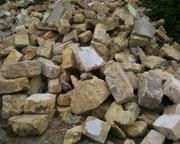 Материал для подсыпки,  бут,  отсев песка,  строительные материалы отходы