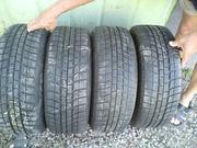 Продам R16 205/55 комплект шин б/у зима Michelin