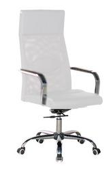 Кресло офисное Небраска,  высокая спинка,  цвет белый