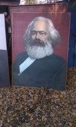 Портрет Ленина,  Энгельса,  Маркса