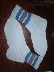 Носки спицами на заказ