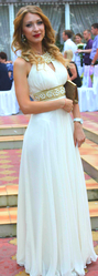 ПРОДАМ шикарное шифоновое платье