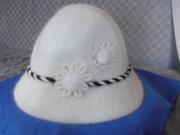 Шляпка из ангорки