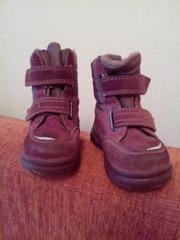 ботинки детские осень зима 20 размер