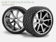 Продам комплект шин б/у зима R16 215/60
