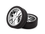 Продам комплект шин б/у зима R18  245/45 Michelin