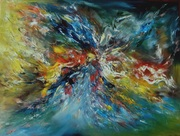 Картина маслом на холсте ( Абстракция)