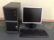 Комп 2х ядерный Intel Pentium Dual Core E5400 по 2.7ГГц!!! + монитор!