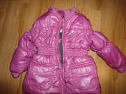 Курточка для девочки в подарок капри