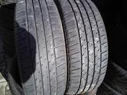 Продам пару шин б/у лето R16 205/50  Michelin