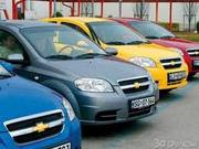 Прокат Аренда автомобилей Daewoo,  Cnevrolet