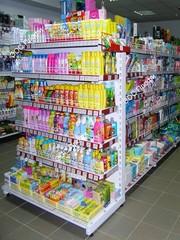 Торговые стеллажи для магазинов. В наличии