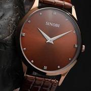 Сверхтонкие эксклюзивные часы Sinobi