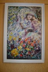 картина маслом Оранжерея разм 1Х0, 6Одесский художник Швец Александр