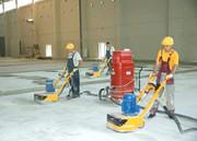 Шлифовка бетонного пола,  обеспыливание бетона,  ремонт бетонного пола