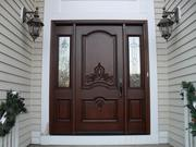 Деревянная входная дверь 8