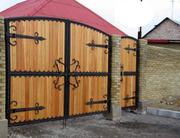 Калитки,  ворота деревянные