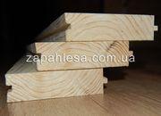 Деревянная шпунтованная доска пола