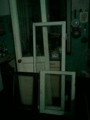 Двери балконные, рамы оконные и форточки