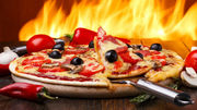 Пицца на дровах. Одесса.