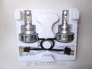 Автомобильные лед лампы шестого поколения G6 - Н7 - альтернатива ксено