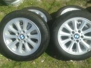 4 Летние Шины Goodyear 195/55 R16 с дисками для BMW Оригинал