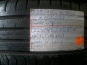 Летняя резина Continental 205/45 R16