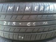 Летние шины б/у Minerva 215/65 R16