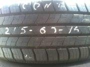 Продам шины Continental  215/60 R16