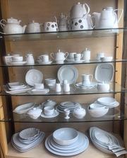 Распродаются остатки белой ресторанной посуды Фарфор!