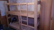 продам деревянную двухярусную кровать