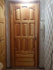 Продам двери межкомнатные массив сосны,  с коробками