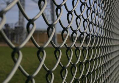 Заборы из сетки (рабицы) черной, оцинкованной и ПВХ  покрытием.