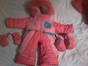 Продам детский комбинезон зима - осень