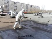 Гидроизоляция производит Гудрон20-17