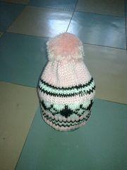 Продам детские шапочки (натуральные вязаные шапочки)