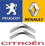 Установка сигнализации на Citroen,  Peugeot,  Renault в Одессе