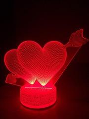 Новинка 3D ночник,  светильник - универсальный подарок
