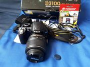 Nikon D3100 + 18-55 Nikor + Сумка + 8гб карта