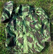 Португальская военная рубашка М63 (камуфляж Lizard - Ящерица)