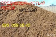 сеяный мелкий песок на строительные работы