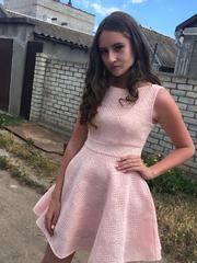 Платье розовое,  размер L