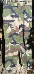 Французские военные брюки- камуфляж CCE (Camouflage Centre Europe)