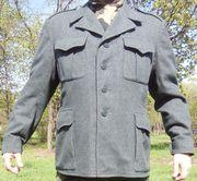 Швейцарская военная куртка-китель 1950х,  оригинал
