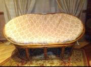 Ротанговый диванчик