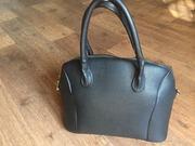 Продам сумку черную эко-кожа женская