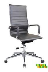 Офисное кресло Алабама НNEW,  серое,  белое