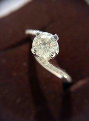 Кольцо с бриллиантом 0. 60 карата